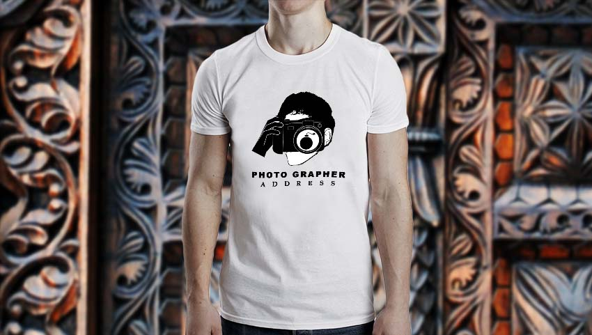 Custom Demand t-shirt printing for photographers in Pakistan