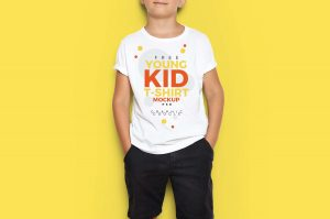 white kids t shirt with custom print in Pakistan
