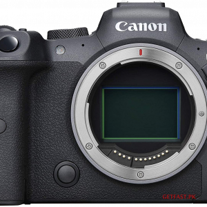 Canon EOS R6 Mirrorless Digital Camera Body and with 24-105mm Lens