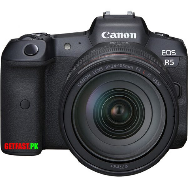 Canon R5 Mirrorless Digital Camera with 24-105mm Price in Pakistan
