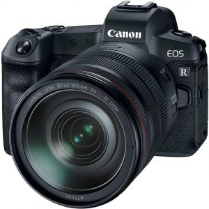 Canon EOS R Mirrorless Full Frame Camera with RF 24-105mm Lens