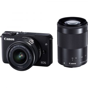 Canon M10 Mirrorless Digital Camera with 15-45mm Lens
