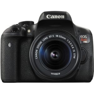 Canon 750D DSLR Camera with EF-S 18-55mm IS Lens