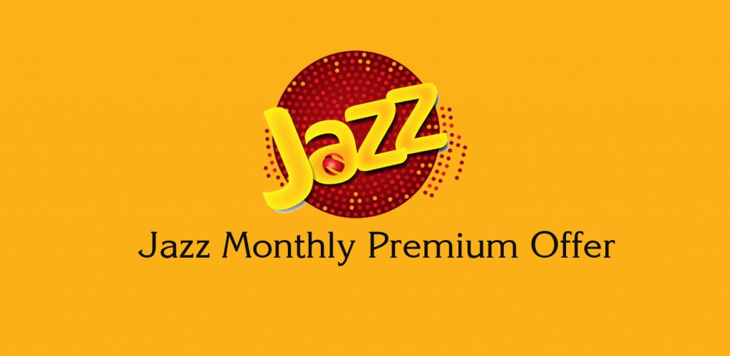 Jazz Monthly Premium Offer Subscription Code