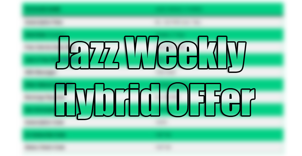 Read more about the article Mobilink Jazz Weekly Hybrid Calls, Internet, SMS Package
