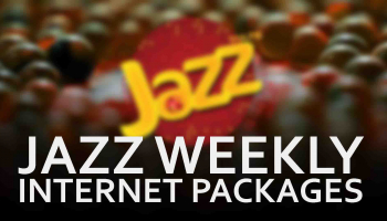 Jazz Karachi, Hyderabad & Badin HAFTAWAR DATA Internet Data Offer